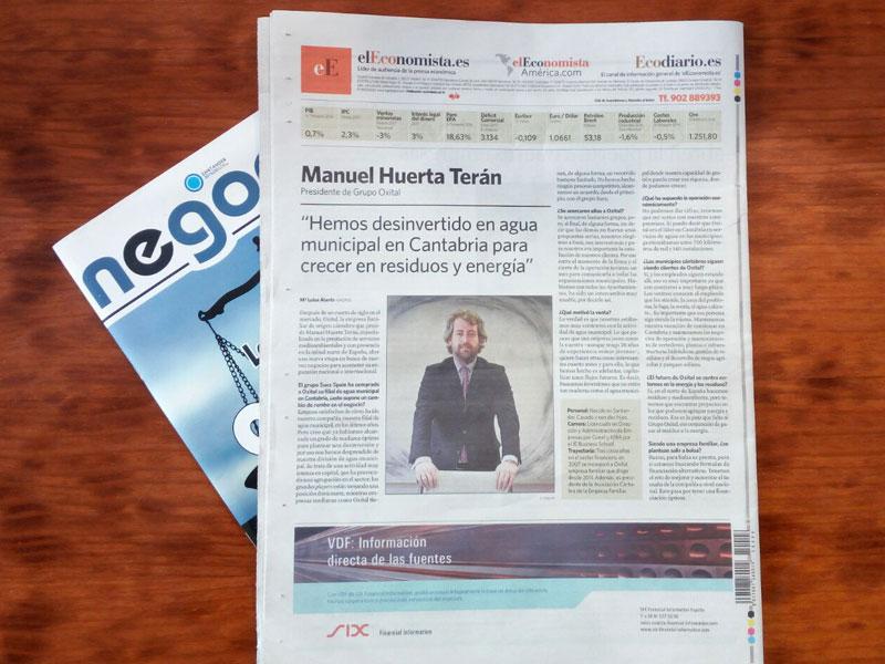 El economista entrevista Manuel Huerta