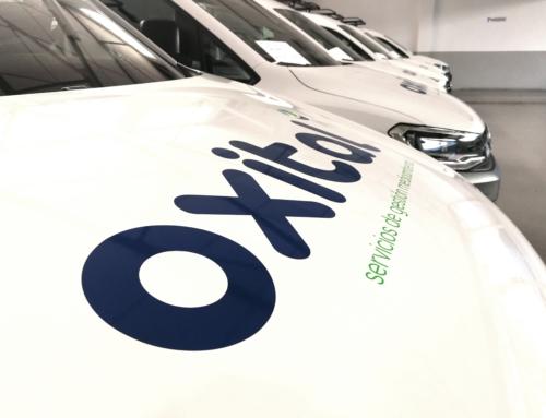 Inauguramos la nueva flota de vehículos de Oxital