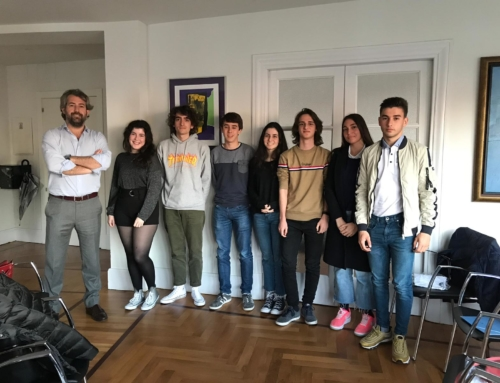 Nuestro Consejo Asesor Junior participa en una Masterclass impartida por Manuel Huerta