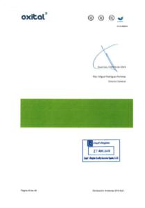 Declaración Ambiental 2018